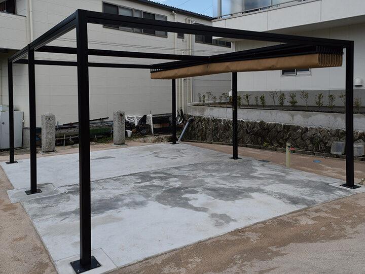広島市㈱ ネストロジスティクス様のリパーロ新設工事の設営事例