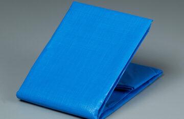 PEシート ブルー